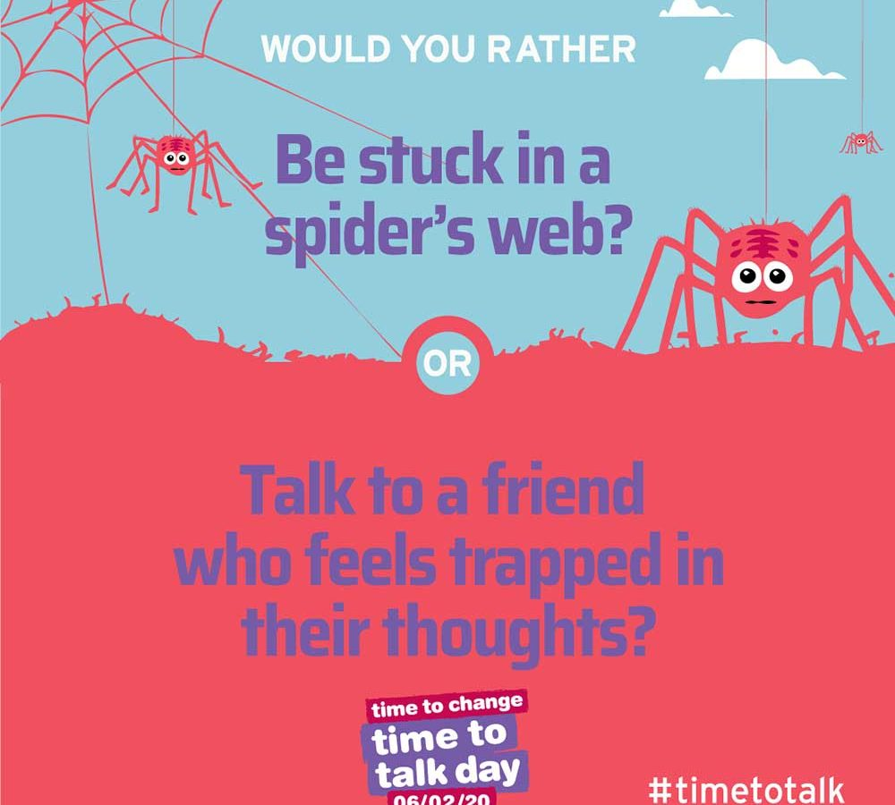 Time to Talk Day 2020 - Would you rather?